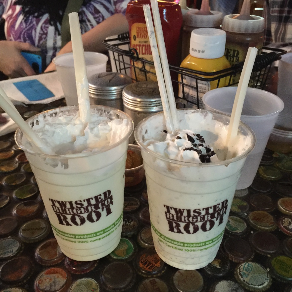 Twisted Root Burger Company in Dallas TX.