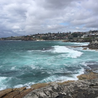 Looking back toward Tamarama and Bronte Beaches.
