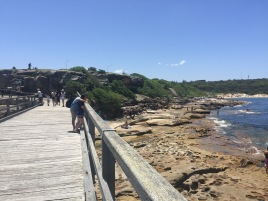 La Perouse bridge to Bare Island