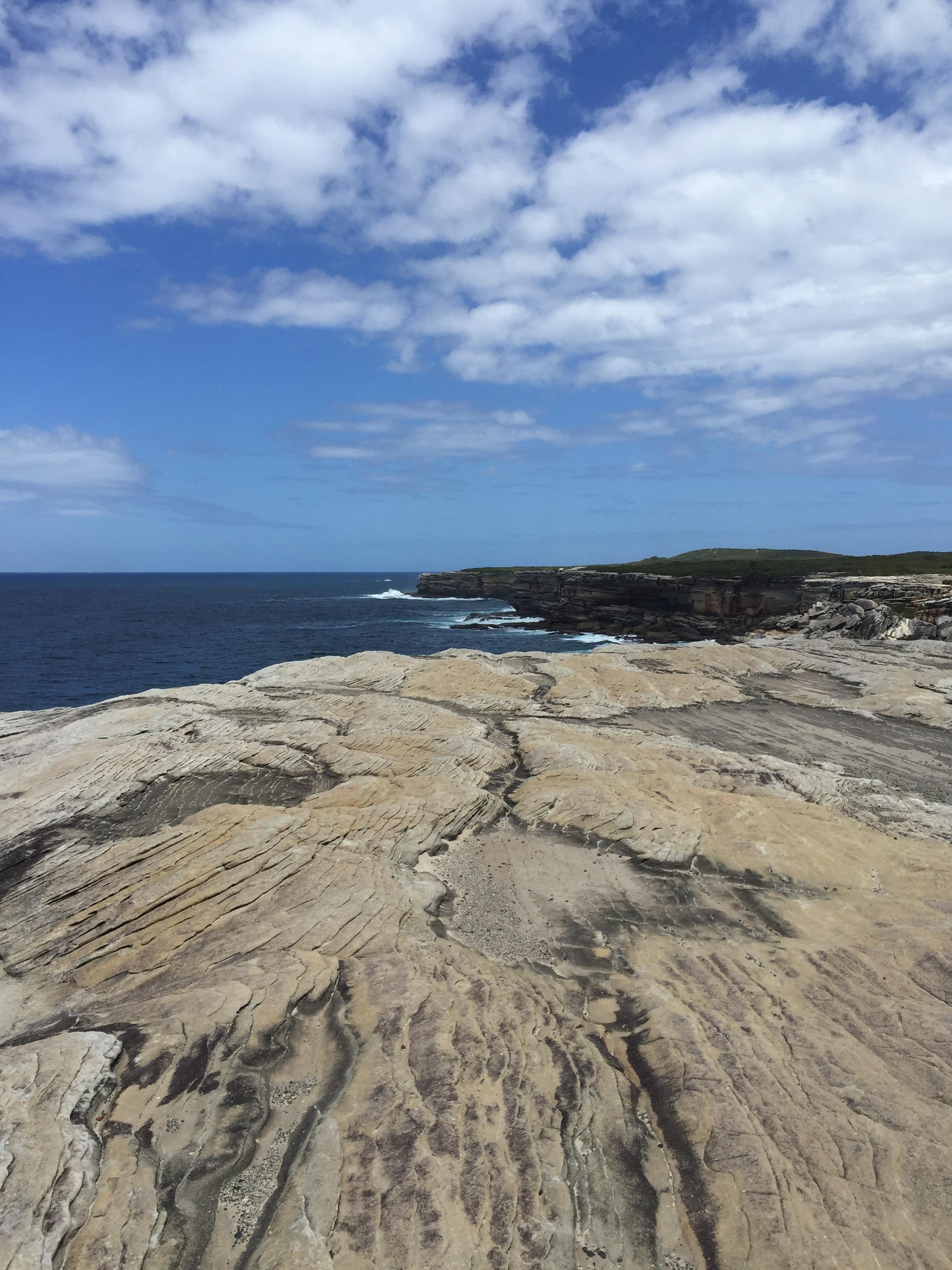 Kamay Botany Bay National Park cliffs