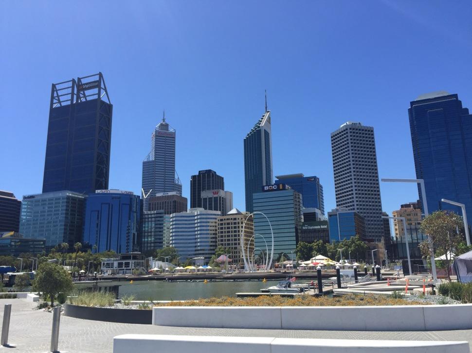 Perth Australia Skyline
