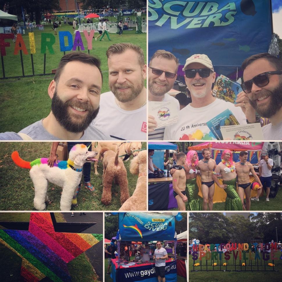 Sydney Mardi Gras Fair Day