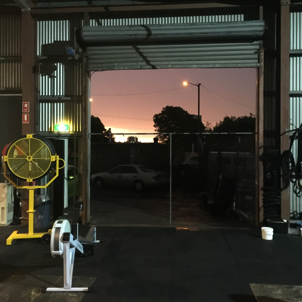 Crossfit Darwin sunrise