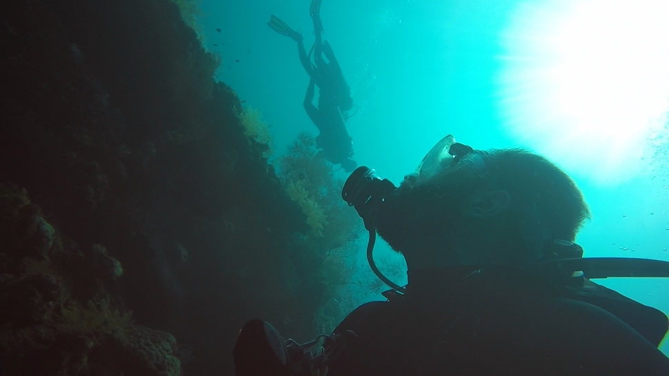 Diving USAT Liberty Wreck in Bali