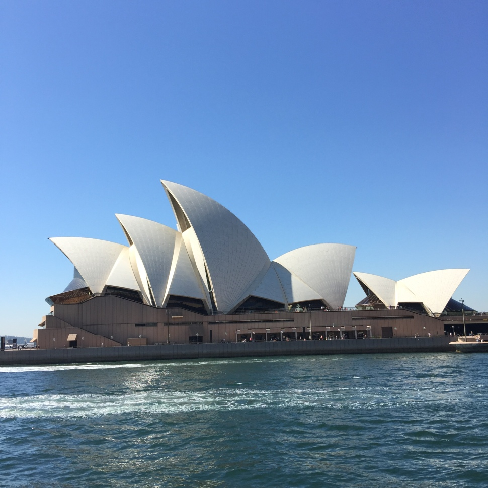 Sydney Opera House from Manly Ferry