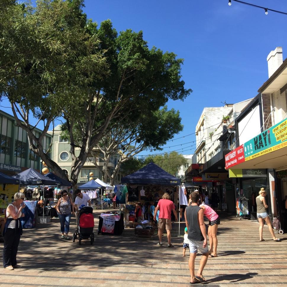 Manly Beach Corso
