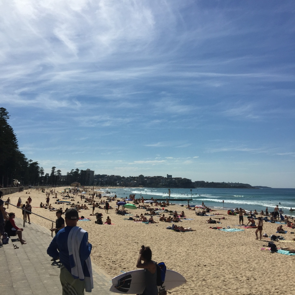 Manly Beach Sydney looking north