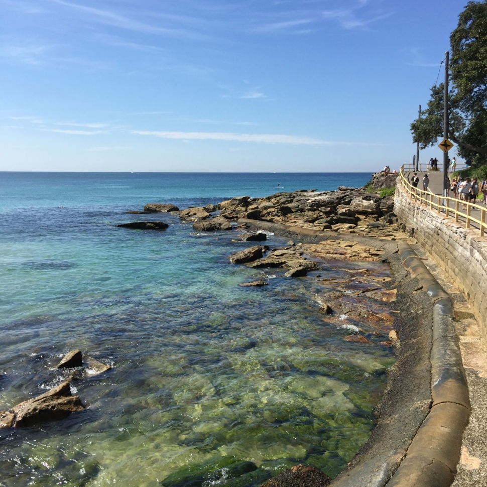Marine Parade in Manly Beach
