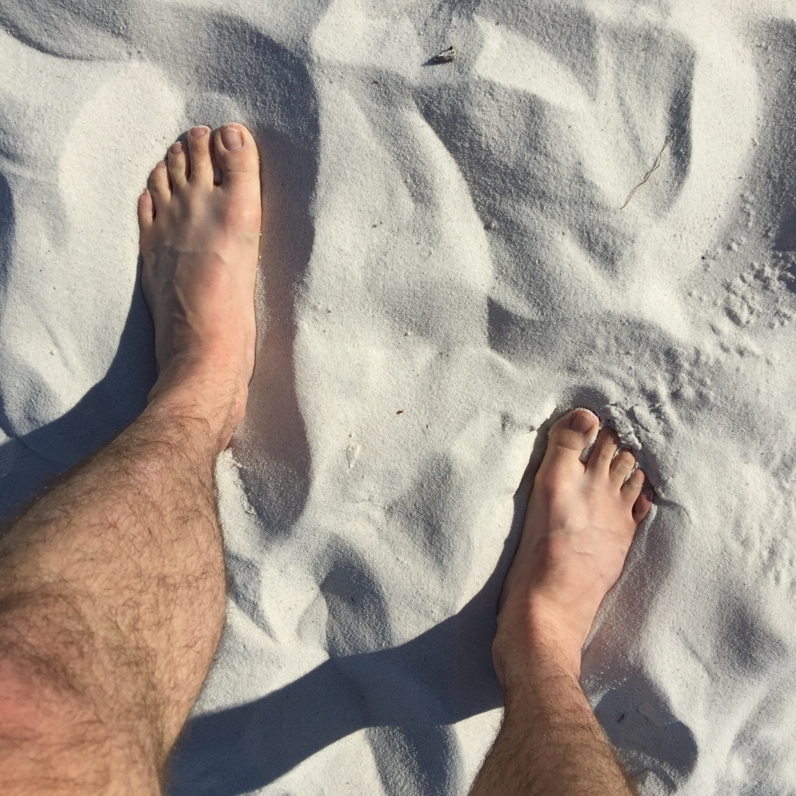 The beautifully white and hilariously squeaky sands of Hyams Beach Jervis Bay.