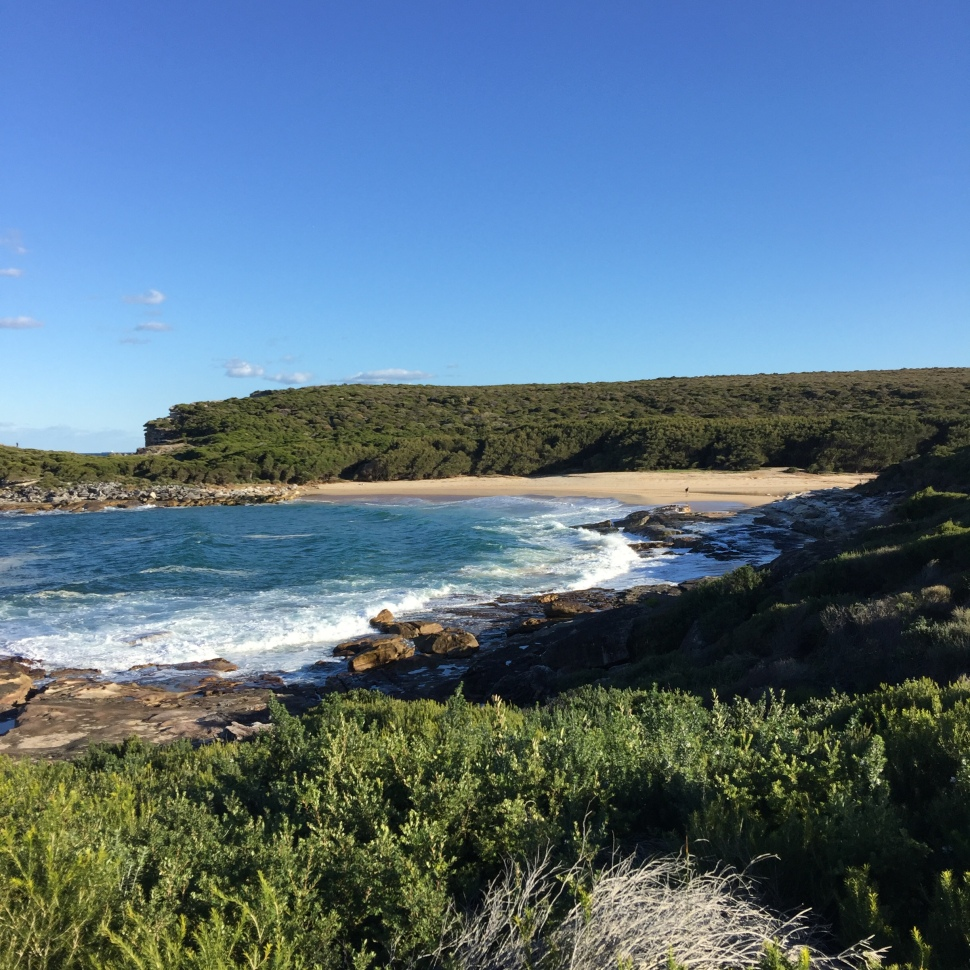 Final beach of the Coast Walk day