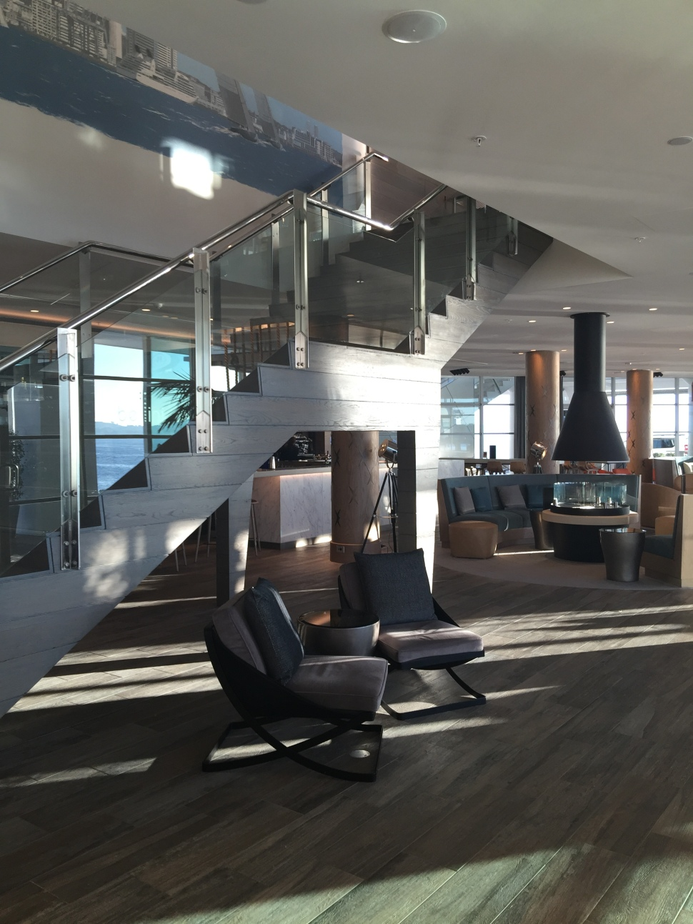 hilton auckland lobby renovation sunshine