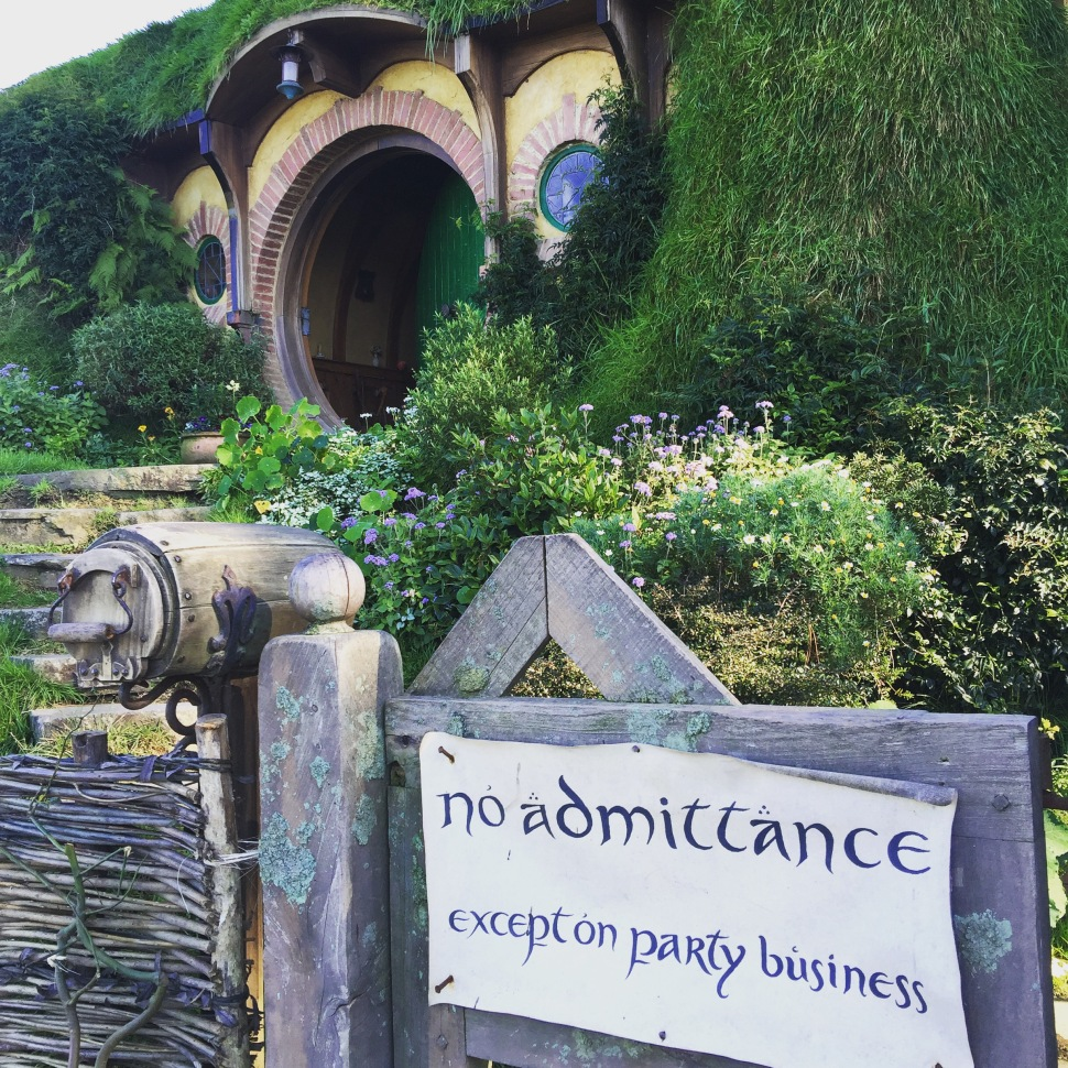 Bag end hobbiton the shire