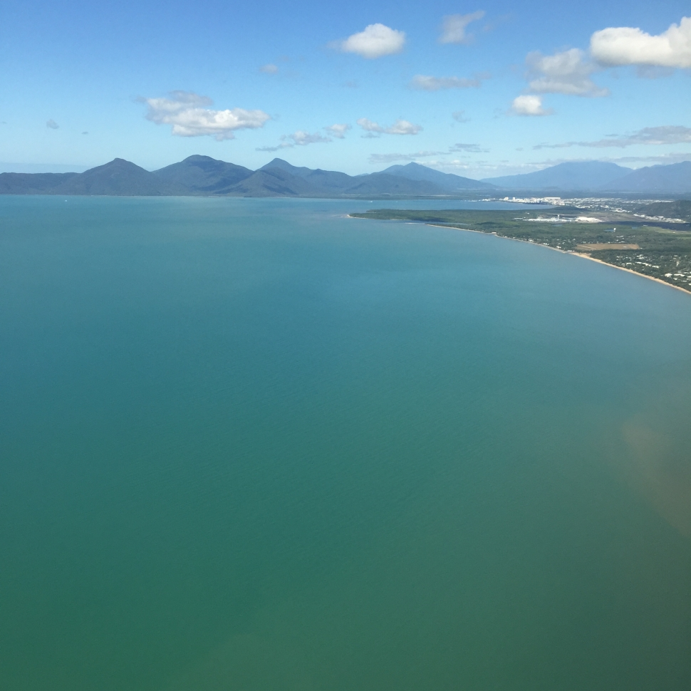 Landing at Cairns Airport