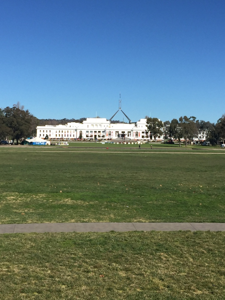 Old Parliament House in Canberra ACT