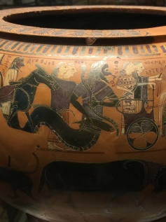 Oceanus attending the Wedding of Peleus and Thetis.