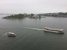 Pulling away from Helsinki!