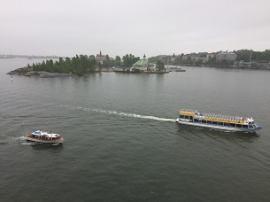 Pulling away from Helsinki!