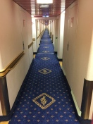 Insert two creepy twin girls at the end of the hall.