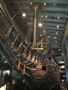 The stern of The Vasa.