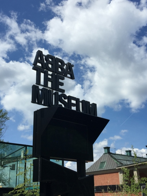 ABBA: The Museum! Impossible for me to resist.
