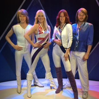 The best thing I learned in this museum was the amazing, musical history of the four artists. They were all so talented well before ABBA ever formed.
